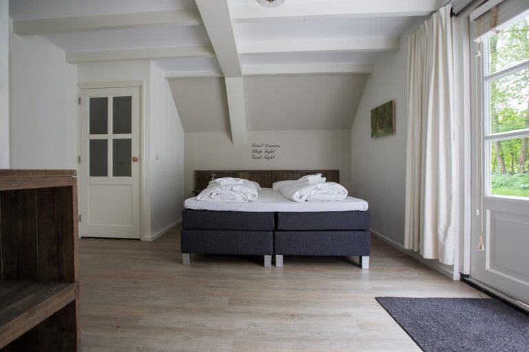 Master bedroom vakantiewoning Duins End Oostvoorne