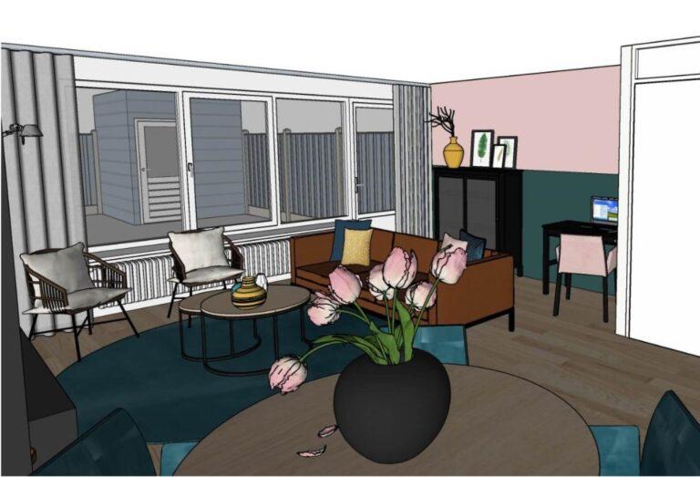 3D interieurontwerp_woonkamer_Huis & Interieur