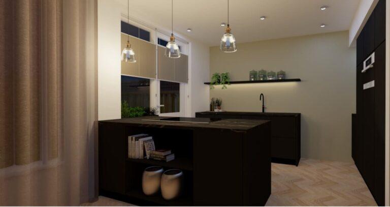3D keukenontwerp Dordrecht_huis-en-interieur